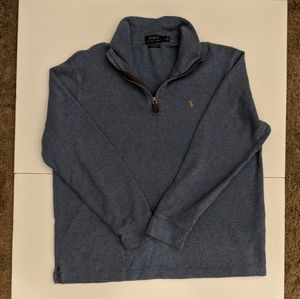 Polo Ralph Lauren Estate Rib 1/4 Zip Sweater Large